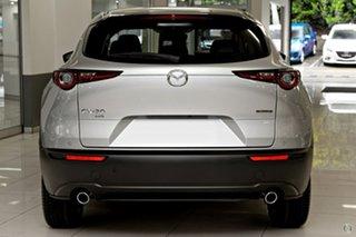 2021 Mazda CX-30 DM4WLA G25 SKYACTIV-Drive i-ACTIV AWD Touring Silver 6 Speed Sports Automatic Wagon.