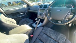 2005 Ford Falcon BA Mk II XR8 Ute Super Cab White 6 Speed Manual Utility