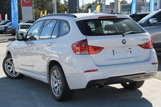 2010 BMW X1 E84 sDrive20d Steptronic White 6 Speed Sports Automatic Wagon.