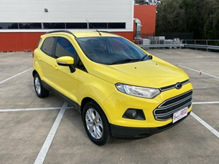 2014 Ford Ecosport BK Trend Yellow 6 Speed Automatic Wagon.
