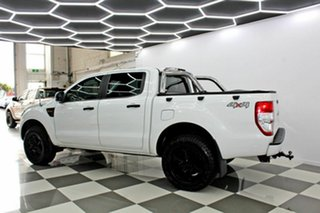 2013 Ford Ranger PX XL 2.2 (4x4) White 6 Speed Automatic Crew Cab Utility