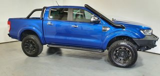 2019 Ford Ranger PX MkIII 2019.00MY XLT Blue 6 Speed Sports Automatic Double Cab Pick Up