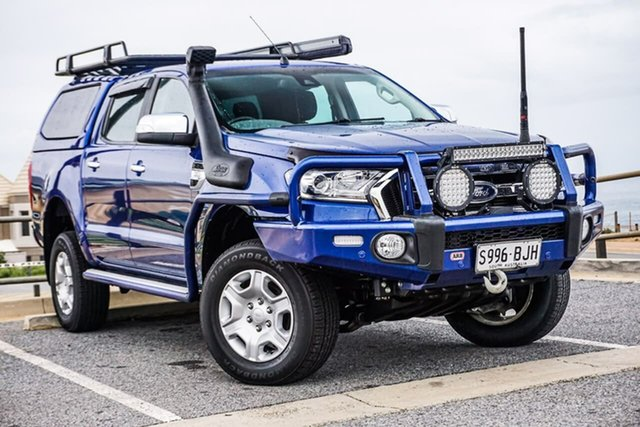 Used Ford Ranger PX MkII XLT Double Cab Christies Beach, 2015 Ford Ranger PX MkII XLT Double Cab Blue 6 Speed Sports Automatic Utility