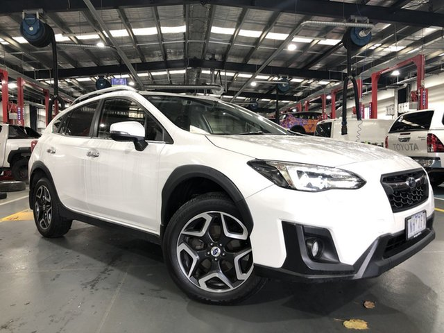 Pre-Owned Subaru XV G5X MY18 2.0i-S Lineartronic AWD Oakleigh, 2018 Subaru XV G5X MY18 2.0i-S Lineartronic AWD White 7 Speed Constant Variable Wagon