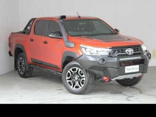 2018 Toyota Hilux GUN126R MY19 Rugged X (4x4) Inferno 6 Speed Automatic Double Cab Pick Up.