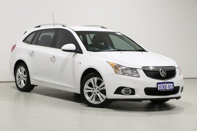 Used Holden Cruze JH MY14 CDX Bentley, 2014 Holden Cruze JH MY14 CDX White 6 Speed Automatic Sportswagon