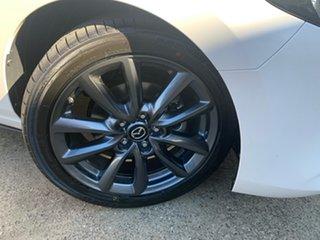 2021 Mazda 3 BP2HLA G25 SKYACTIV-Drive Evolve Snowflake White 6 Speed Sports Automatic Hatchback.