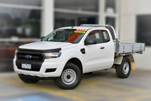 Used Ford Ranger PX MkII XL Hi-Rider Berwick, 2017 Ford Ranger PX MkII XL Hi-Rider White 6 Speed Sports Automatic Cab Chassis