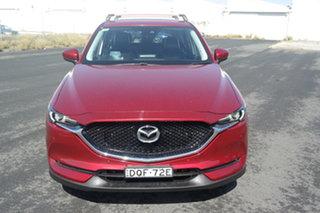 2017 Mazda CX-5 KF4WLA Touring SKYACTIV-Drive i-ACTIV AWD Red 6 Speed Sports Automatic Wagon.