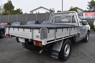 2013 Mazda BT-50 UP0YD1 XT 4x2 Billet Silver 6 Speed Manual Cab Chassis