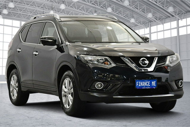 Used Nissan X-Trail T32 ST-L X-tronic 2WD Victoria Park, 2015 Nissan X-Trail T32 ST-L X-tronic 2WD Black 7 Speed Constant Variable Wagon