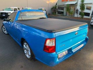 2009 Ford Falcon FG XR6 Ute Super Cab Blue 5 Speed Sports Automatic Utility.