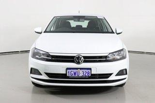 2019 Volkswagen Polo AW MY19 70TSI Trendline White 7 Speed Auto Direct Shift Hatchback.