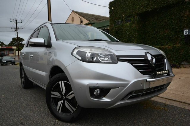 Used Renault Koleos H45 Phase III Bose SE (4x2) Blair Athol, 2014 Renault Koleos H45 Phase III Bose SE (4x2) Silver Continuous Variable Wagon
