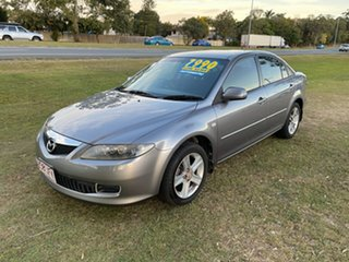 2005 Mazda 6 GG1032 Classic Silver 5 Speed Sports Automatic Hatchback.