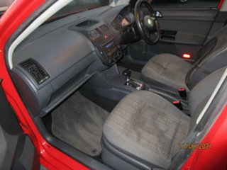 2006 Volkswagen Polo 9N MY06 Upgrade Match Red 4 Speed Automatic Hatchback