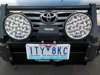2012 Toyota Hilux KUN26R MY12 SR5 (4x4) Blue 4 Speed Automatic Dual Cab Pick-up