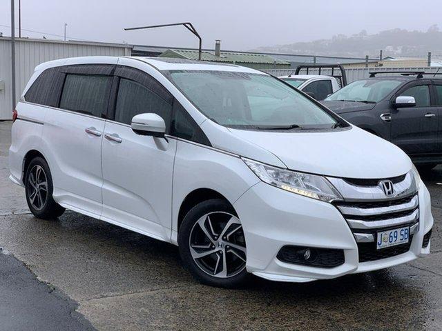 Used Honda Odyssey RC MY15 VTi-L Moonah, 2015 Honda Odyssey RC MY15 VTi-L White 7 Speed Constant Variable Wagon