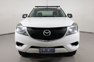 2017 Mazda BT-50 MY17 Update XT Hi-Rider (4x2) White 6 Speed Automatic Freestyle Cab Chassis.