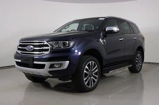 2020 Ford Everest UA II MY20.25 Titanium (4WD 7 Seat) Blue 10 Speed Auto Seq Sportshift SUV.