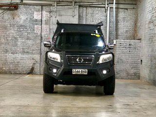 2015 Nissan Navara D23 ST-X Black 7 Speed Sports Automatic Utility.