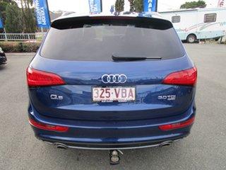 2014 Audi Q5 8R MY14 TDI S Tronic Quattro Blue 7 Speed Sports Automatic Dual Clutch Wagon