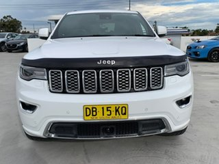2018 Jeep Grand Cherokee WK MY18 Overland Bright White 8 Speed Sports Automatic Wagon