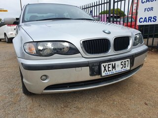 2001 BMW 3 Series E46 318i Steptronic Executive Silver 4 Speed Sports Automatic Sedan.