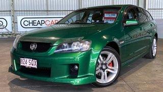 2009 Holden Commodore VE MY09.5 SV6 Sportwagon Green 5 Speed Sports Automatic Wagon.