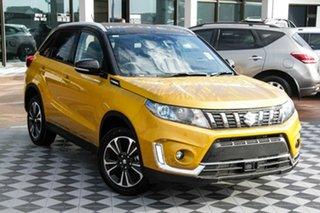 2021 Suzuki Vitara LY Series II Turbo 2WD Yellow & Black 6 Speed Sports Automatic Wagon.