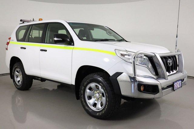 Used Toyota Landcruiser Prado GDJ150R MY16 GX (4x4) Bentley, 2016 Toyota Landcruiser Prado GDJ150R MY16 GX (4x4) White 6 Speed Automatic Wagon