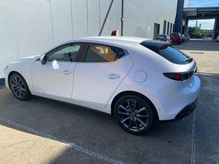 2021 Mazda 3 BP2HLA G25 SKYACTIV-Drive Evolve Snowflake White 6 Speed Sports Automatic Hatchback