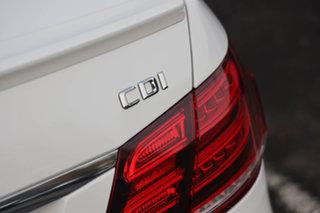 2016 Mercedes-Benz E-Class W212 806MY E250 CDI 7G-Tronic + Polar White 7 Speed Sports Automatic