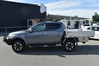 2016 Mitsubishi Triton MQ MY16 Upgrade Exceed (4x4) Grey 5 Speed Automatic Dual Cab Utility