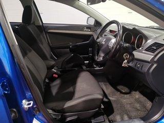 2007 Mitsubishi Lancer CJ MY08 VR Blue 5 Speed Manual Sedan