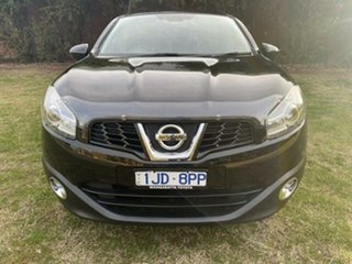 2012 Nissan Dualis J10 Series 3 TI-L (4x2) Black 6 Speed CVT Auto Sequential Wagon.