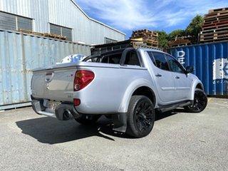 2013 Mitsubishi Triton MN MY13 GLX-R Double Cab Silver 5 Speed Sports Automatic Utility.