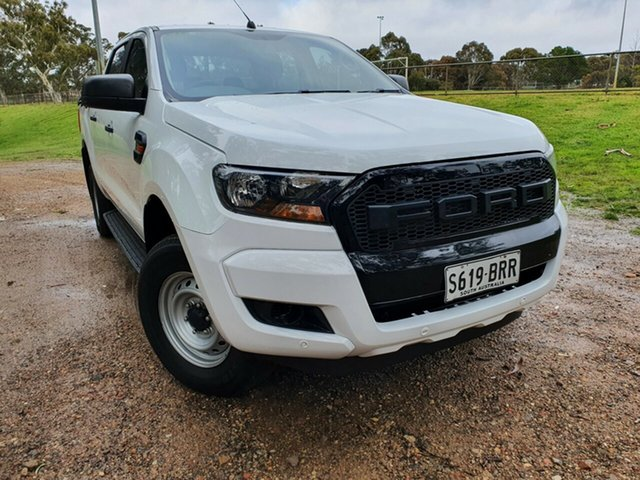 Used Ford Ranger PX MkII XL Totness, 2017 Ford Ranger PX MkII XL Frozen White 6 Speed Manual Cab Chassis