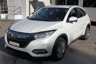 2019 Honda HR-V MY19 VTi-LX White 1 Speed Constant Variable Hatchback.