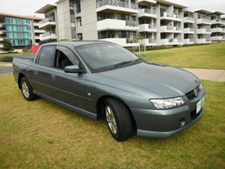 2005 Holden Crewman VZ S Blue 6 Speed Manual Crew Cab Utility.