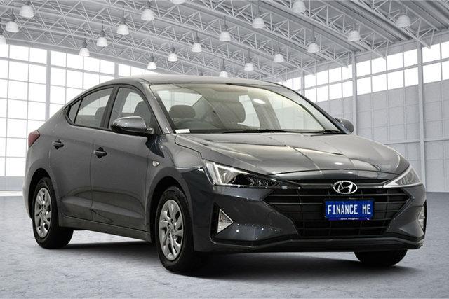 Used Hyundai Elantra AD.2 MY20 Go Victoria Park, 2019 Hyundai Elantra AD.2 MY20 Go Iron Grey 6 Speed Sports Automatic Sedan