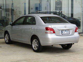 2008 Toyota Yaris NCP93R YRS Silver 4 Speed Automatic Sedan