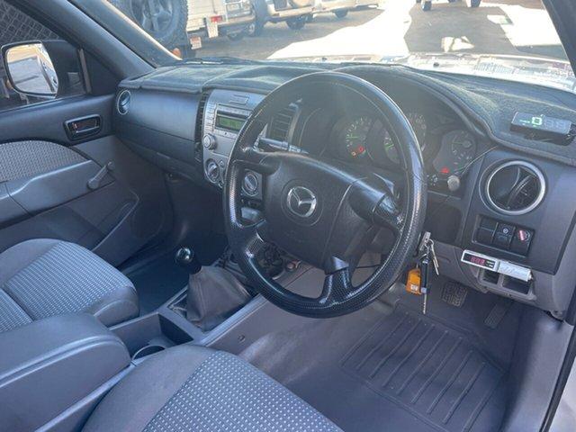 Used Mazda BT-50 B3000 DX Toowoomba, 2007 Mazda BT-50 B3000 DX Silver 5 Speed Manual Dual Cab Pick-up