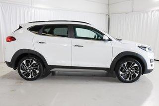 2020 Hyundai Tucson TL3 MY20 Highlander D-CT AWD White 7 Speed Sports Automatic Dual Clutch Wagon.