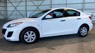 2011 Mazda 3 BL10F2 Neo Activematic White 5 Speed Sports Automatic Sedan.