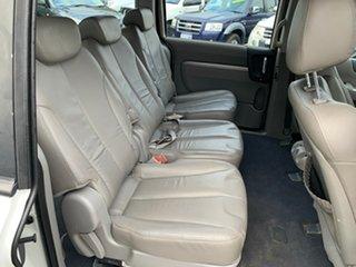 2009 Kia Grand Carnival VQ Premium White 5 Speed Tiptronic Wagon