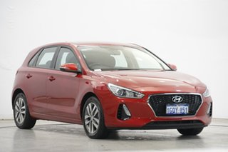 2018 Hyundai i30 PD2 MY18 Active Scarlet Red 6 Speed Sports Automatic Hatchback
