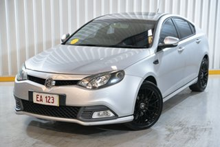 2013 MG MG6 IP2X GT S Silver 5 Speed Manual Hatchback.