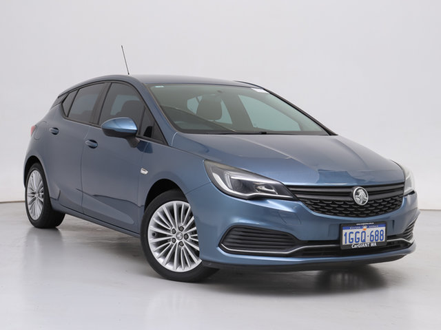 Used Holden Astra BK MY17 R, 2017 Holden Astra BK MY17 R Blue 6 Speed Automatic Hatchback