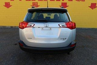 2015 Toyota RAV4 ALA49R MY14 GX AWD Silver 6 Speed Manual Wagon